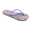 Lady Floral Thongs with Slim Upper