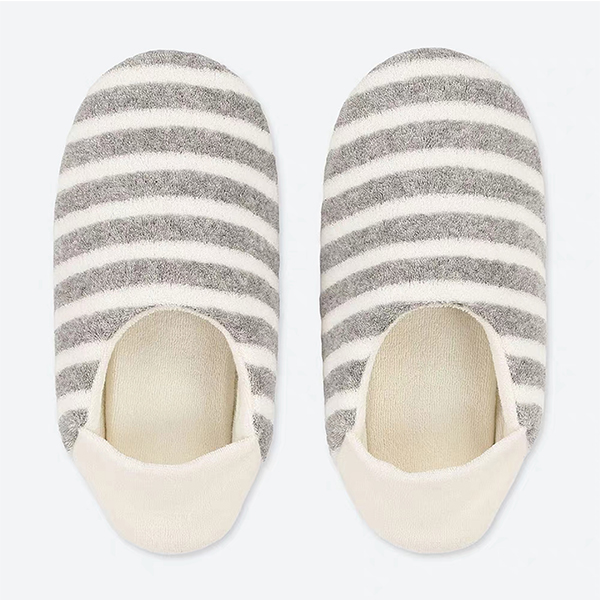 Comfortable Two-way Stripe Winter Slippers