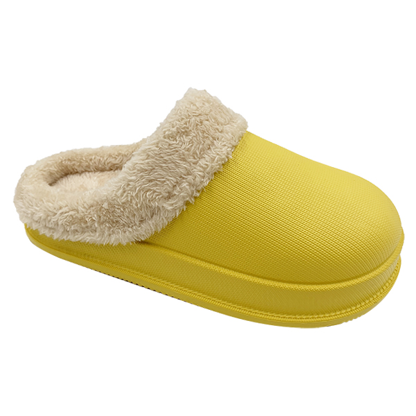 Winter Home Clogs with Warm Lining