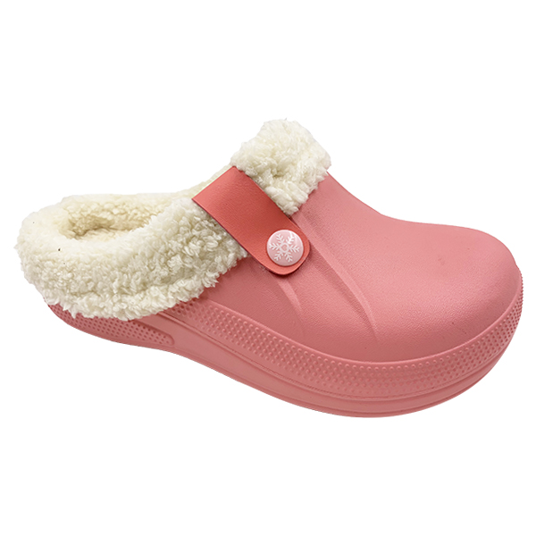 Hot Sale Unisex Indoor Clogs with Fleece Lining